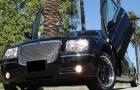 черный лимузин крайслер 300с