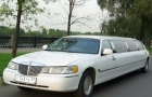 белый лимузин линкольн