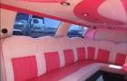 лимузин с розовым салоном