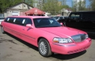 лимузин розовый