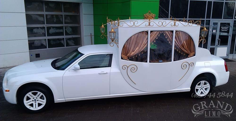 Свадебная машина карета фото